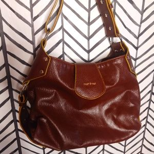Matt & Nat Shoulder Bag Studs Saddle bag